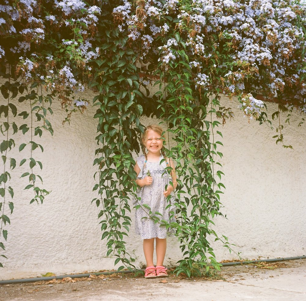 Flower Girl | Rolleicord | Ektar | Michael Rennie