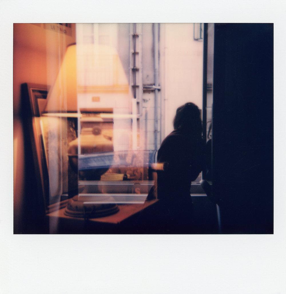 Sunday Blues | Polaroid Image System 1986 | Corentin Schieb