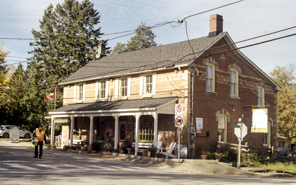Fundraising in the Front of the General Store