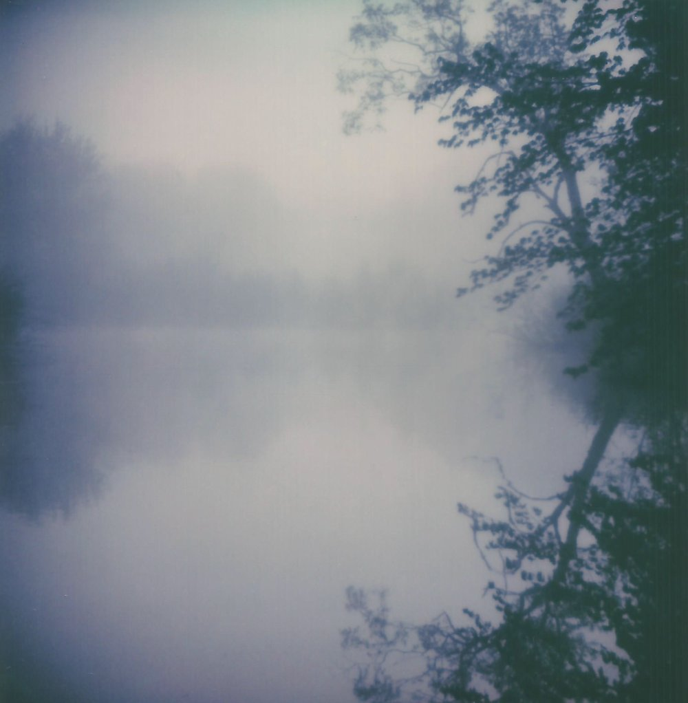 Fog On The River | Polaroid SLR680 | Polaroid Originals Color 600 | Kristin Randall