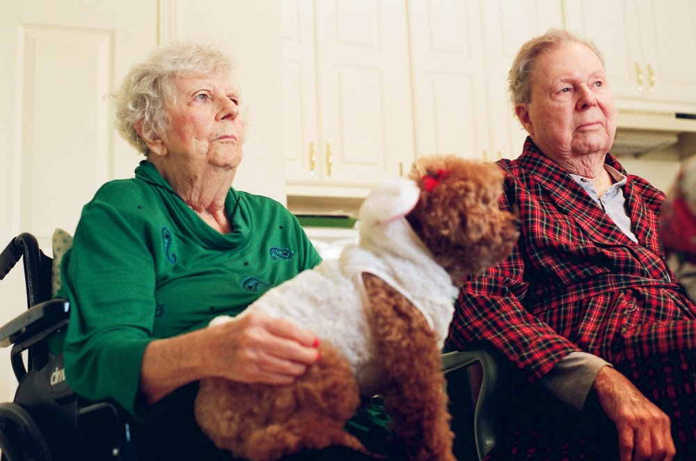 Nonnie and Gampie | Minolta MD | Tom Simmermaker