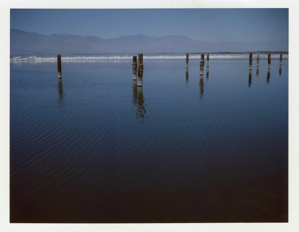 Salton Sea | Polaroid Automatic 100 Land Camera | Fuji FP100C | Barbara Justice