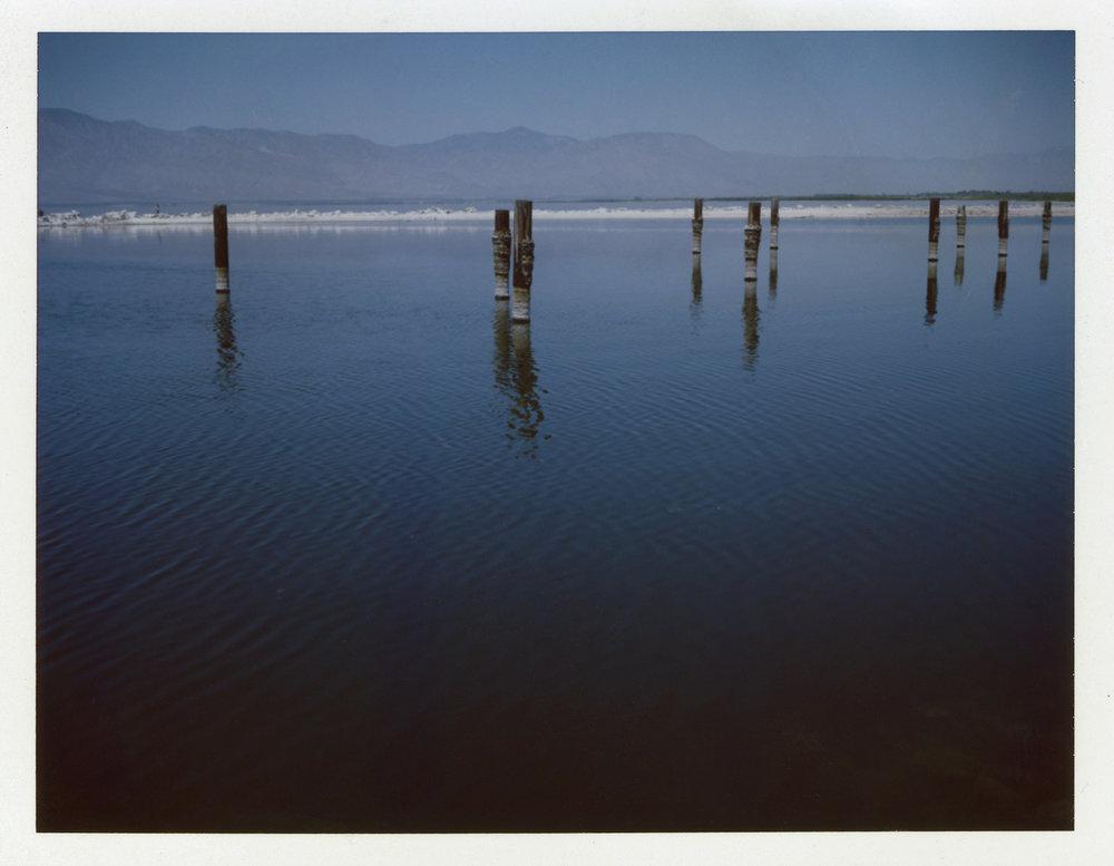 Salton Sea | Polaroid Automatic 100 Land Camera | Fuji FP100C | Barbara Justice