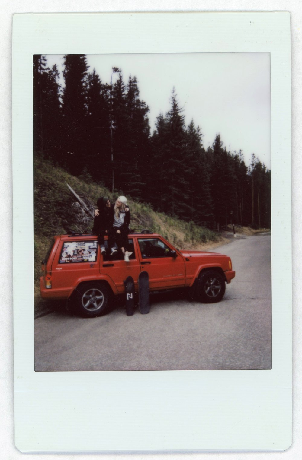 My Jeep's Name is Saul, and We're Going to California Together | Fuji Instax Mini | Lucy Carling