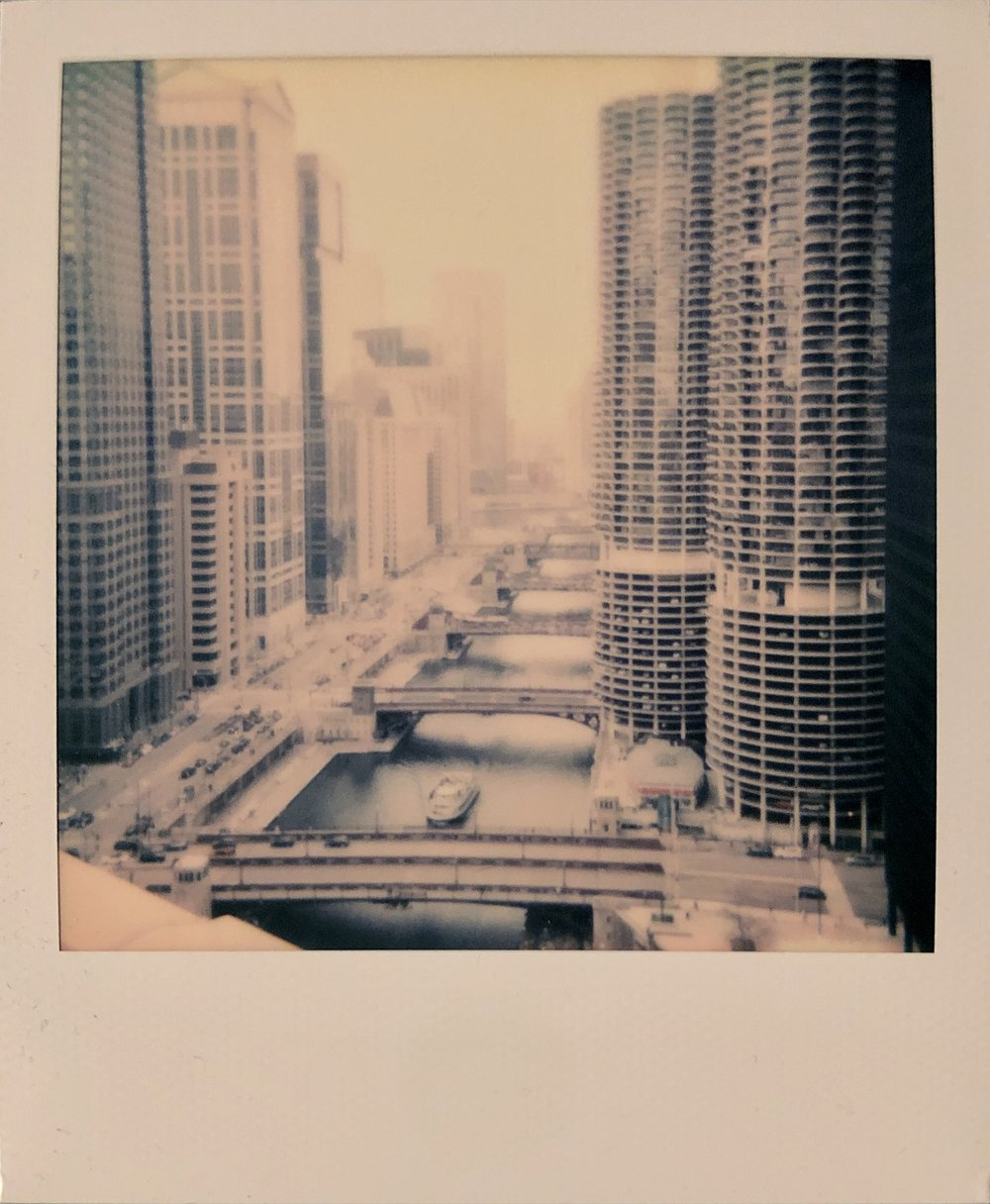 Chicago | Polaroid OneStep 2 | Polaroid Color 600 | Tom SSimmermaker