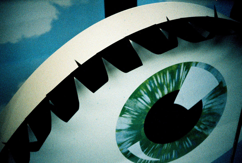 Russ Morris | eye | olympus 35rc | Ektachrome 160t X-Pro