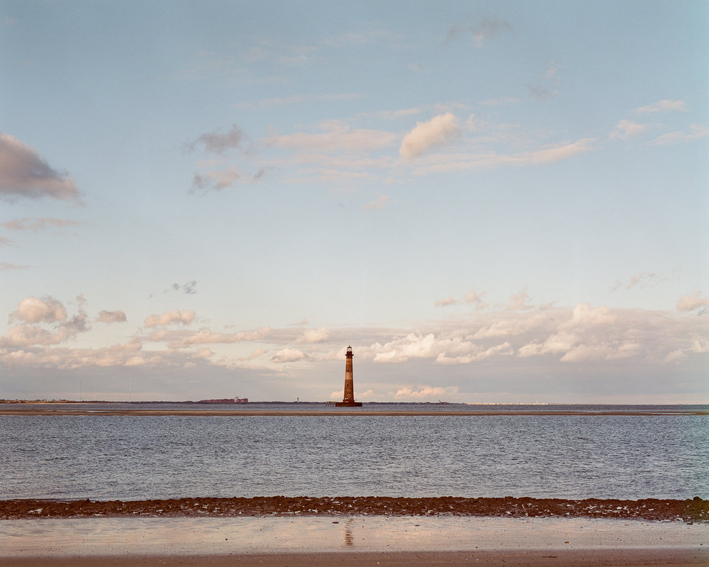 Zachary Parks | Morris Island Lighthouse | Mamiya RZ-67