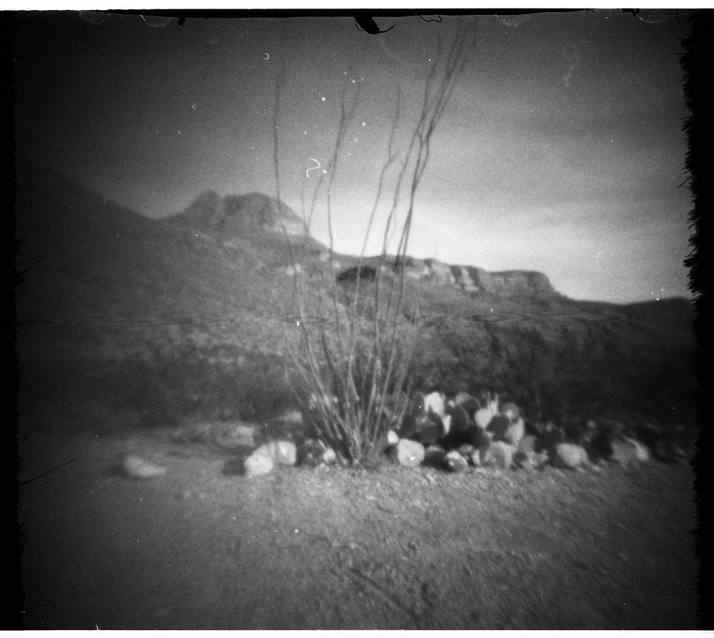 Alomogordo, NM, shot with Grahams 24Squared pinhole camera.
