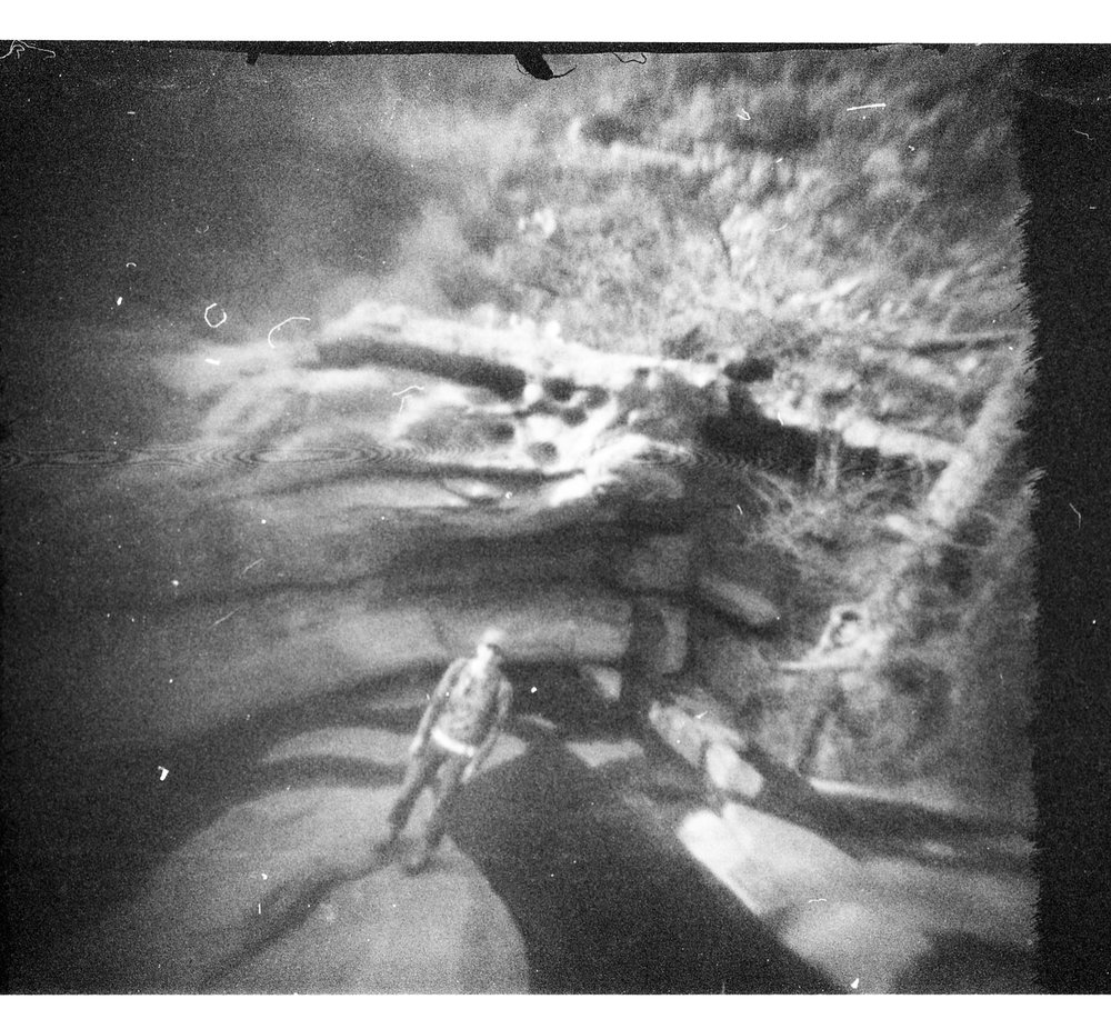 Dog Canyon, NM. Frozen Photon 24Squared pinhole camera.