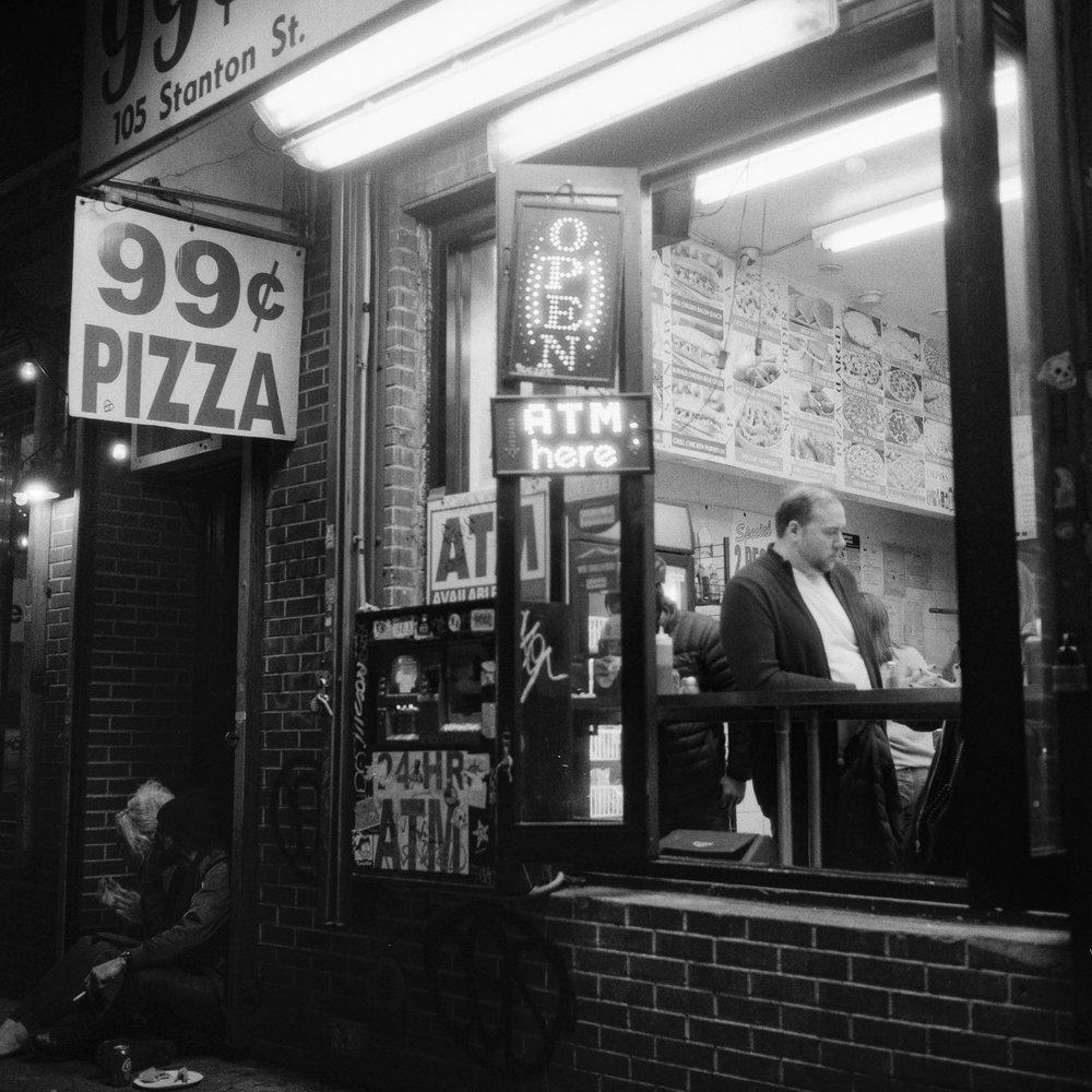 L.E.S. Nights | Rolleiflex | Delta 3200 | Colin Poellot