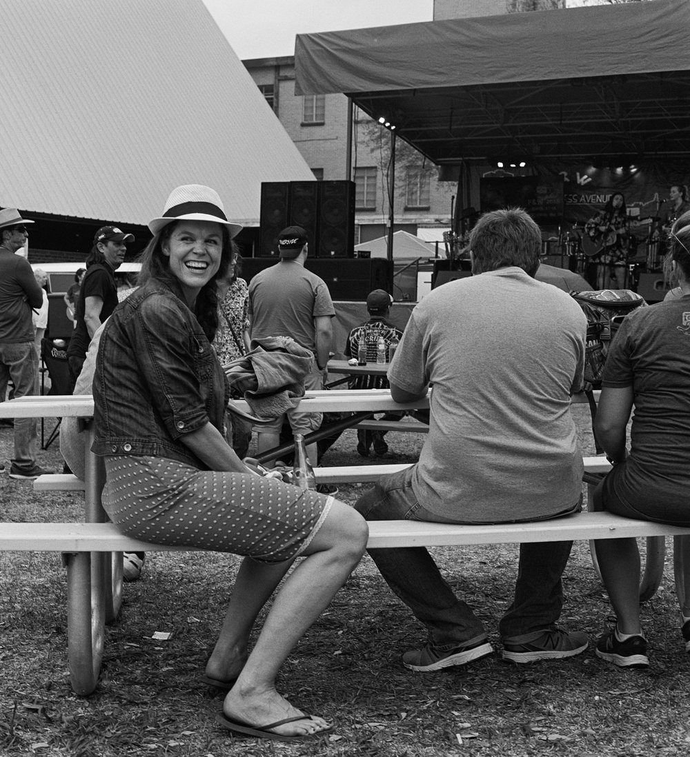 woman turned around laughing soco st pat's (1 of 1).jpg