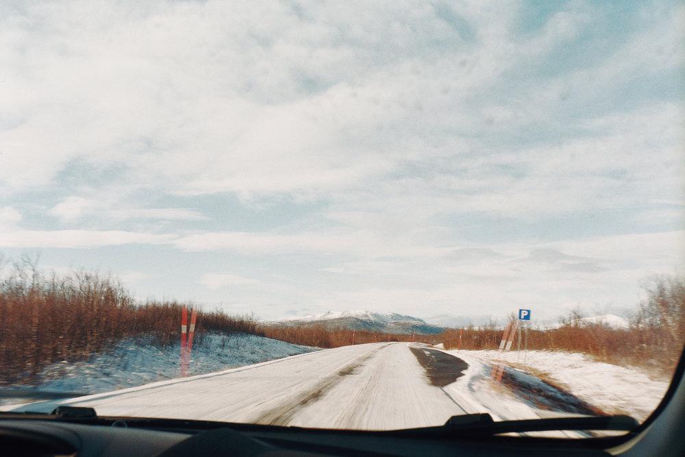 Jukkasjärvi | Olympus Trip 35 | Rocio Fuhr