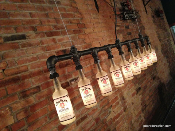 INDUSTRIAL BOTTLE LAMP $595
