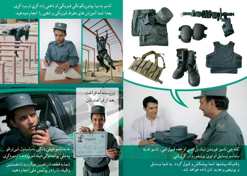 Afghan National Police Handbook - Afghanistan - 2006