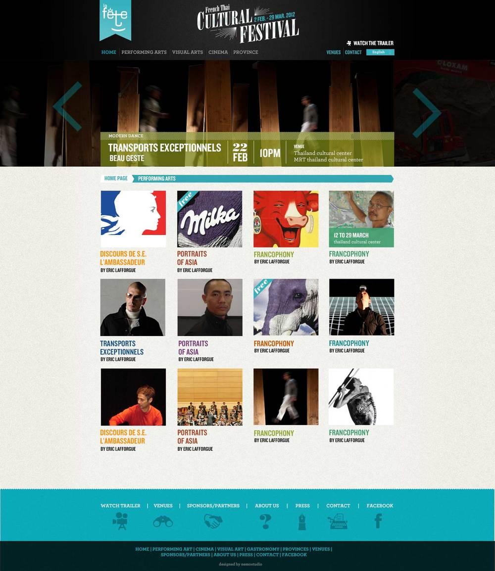 Webpage - Bangkok - 2011