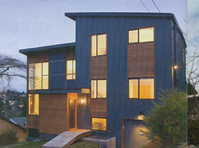 Seattle Met Magazine Cleaned windows of the home featured in an article.