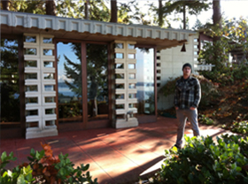 Seattle Met Magazine Cleaned windows on Frank Loyd Wright Designed home featured in an article.