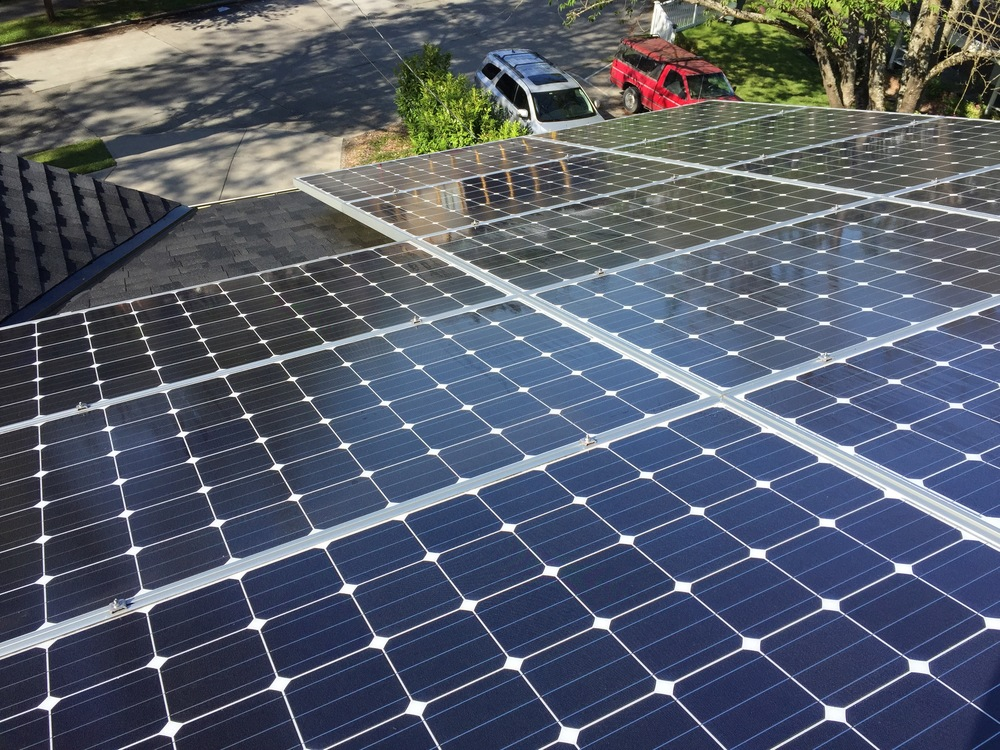 Solar Panel & Awning Cleaning