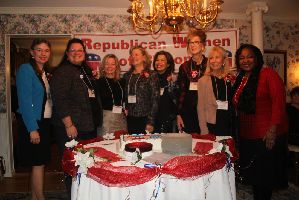 RWC's 10th Anniversary with the presidents of the Republican Women of Clifton