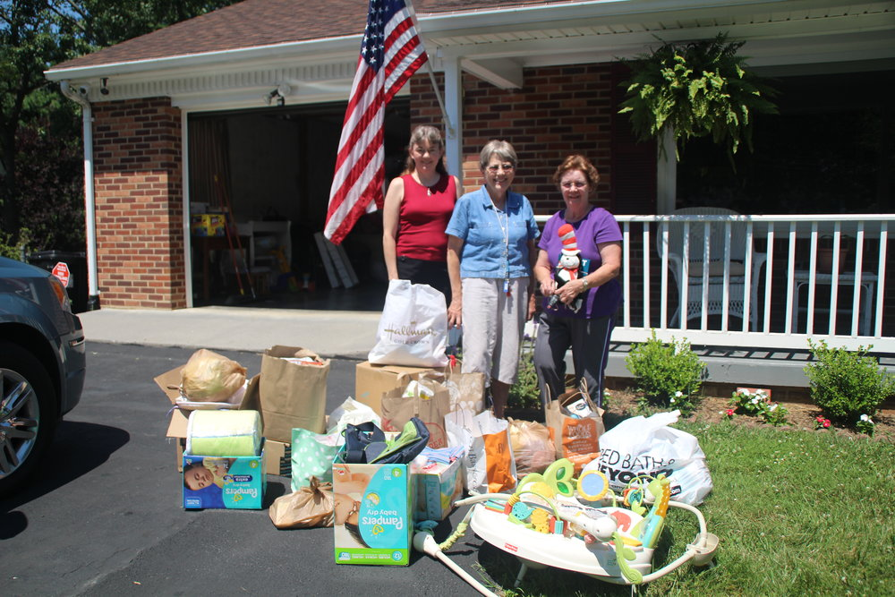 RWC's donations to New Eve Ministry's home for unwed mothers