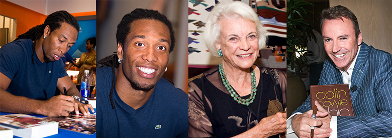 Larry Fitzgerald, Phoenix Cardinals; Sandra Day O'Connor; Colin Cowie