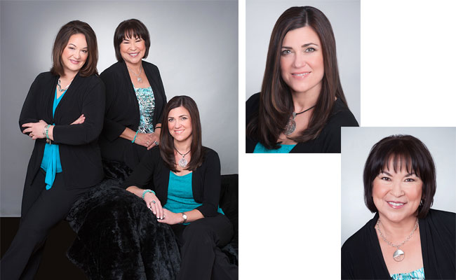 Pamela also choose to have her associates photographed to update her law website.