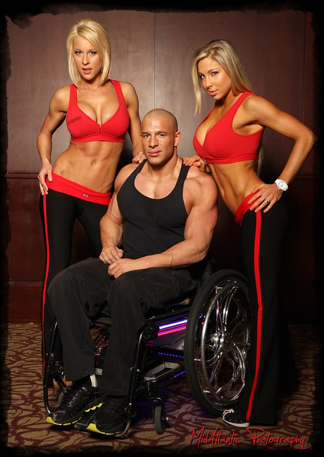 Nick Scott turned pro bodybuilder in a wheelchair.  Then paved the way for other wheelchair athletes to do the same.  Yeah, I'd listen to this guy.