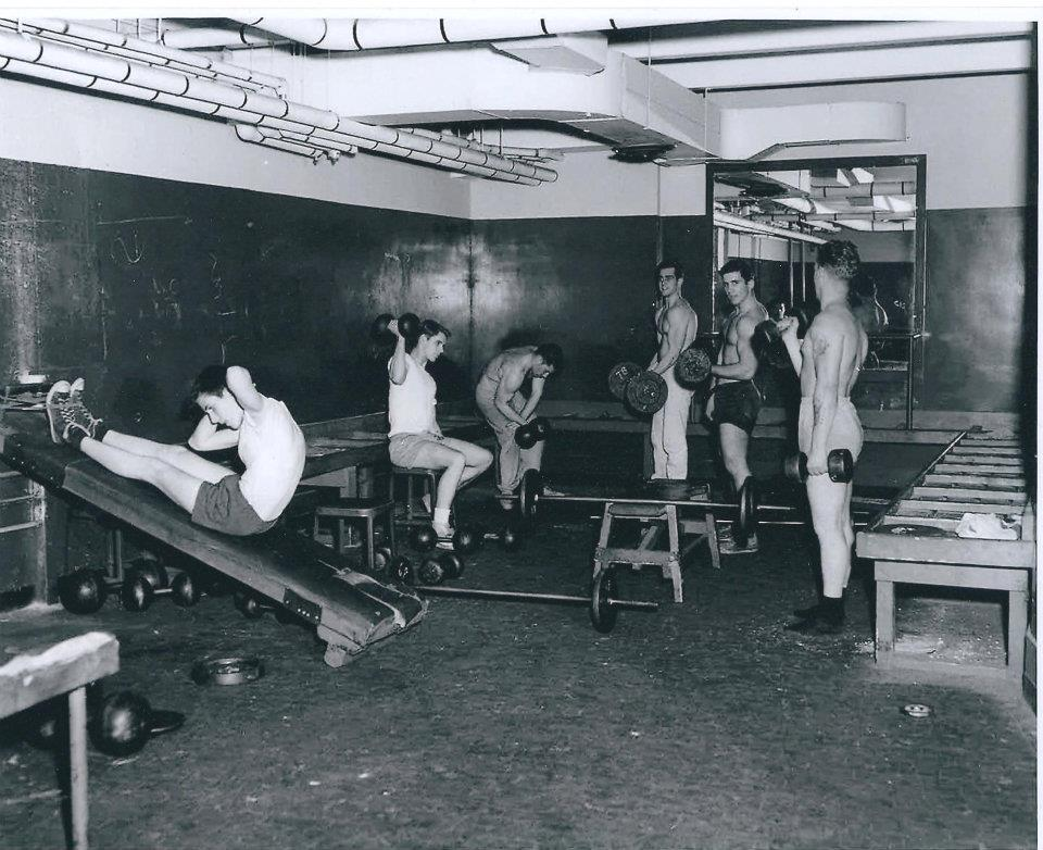 The Union Gym in Boston – home to both Tom Keon and at one point The Next Level – shown here in it's hey day.  Ironically, it currently looks only slightly less gritty than this.  And that is actually a VERY cool thing.