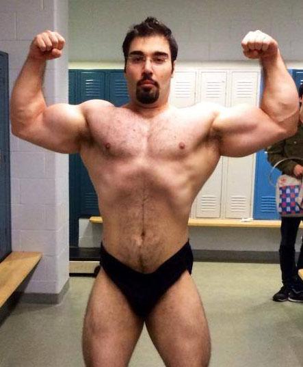 The Spring '14 Team's Iranian Bull, Ali.
