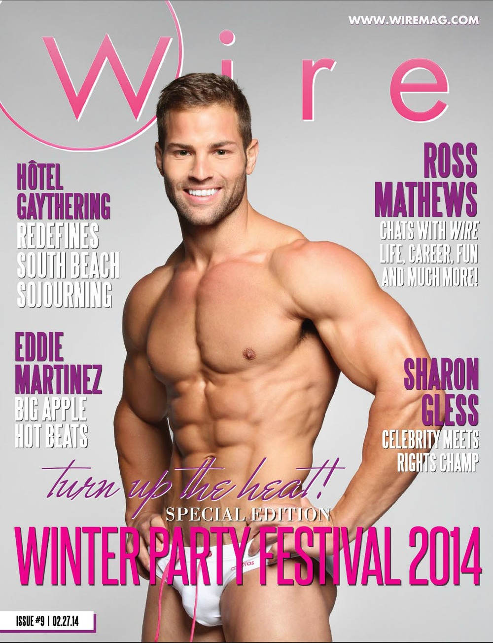 The cover of Wire Magazine, February 2014.