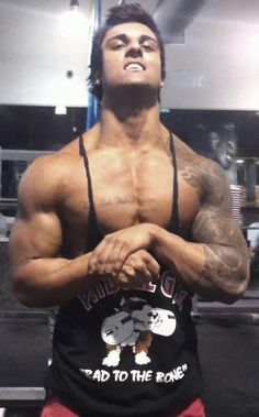 "Aziz ""Zyzz"" Shavershian was a guy whose main contribution top culture was an aggressive self-promotion of his body's appearance.  Yes, he was a douchebag folk hero."