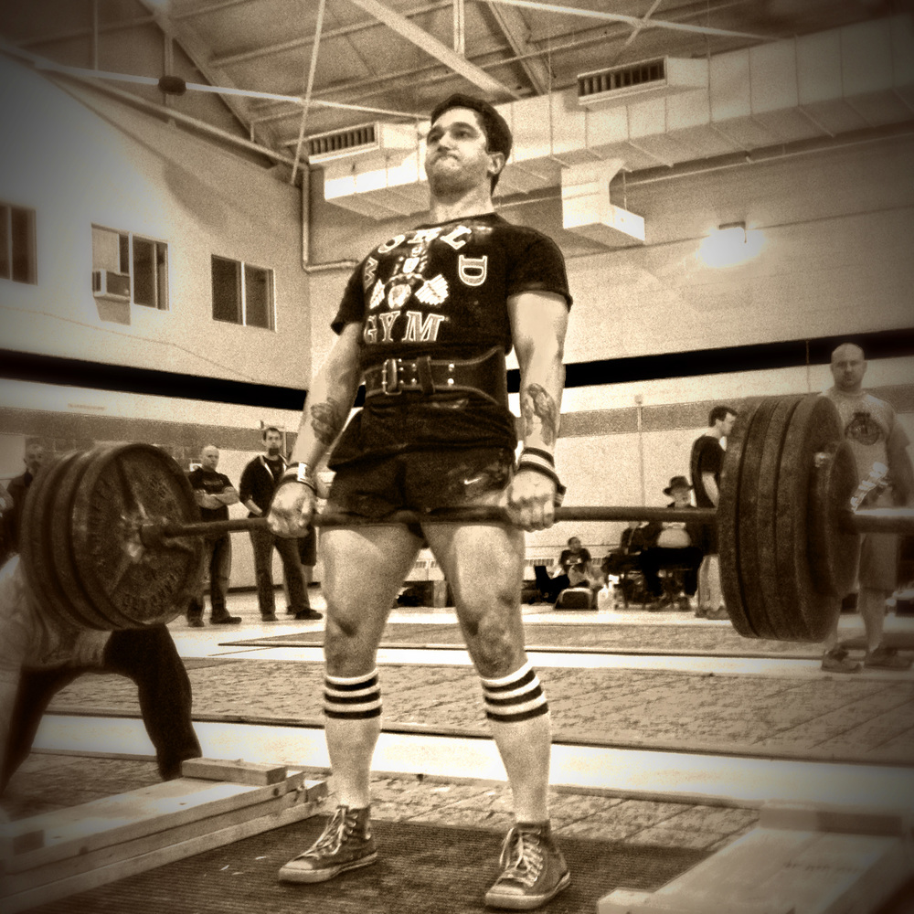 "He has spent the last few years following thew conventions of  StrongMan competitions, so can we still consider Steve (The Beast) a ""competitive bodybuilder""?"
