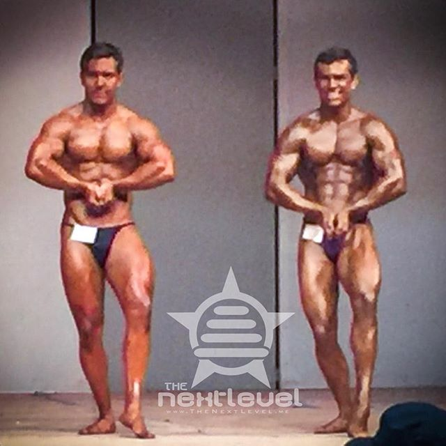 Like we said: what this #bodybuildingcompetition needs is a little Kyle vs Kyle action.  Frustrated that the photos were so far way. Grateful that two of our best-matched teammates from the #Spring2017Team got to go head to head.  #ThePowerOfTeam.  #bodybuilder #bodybuilding #lightweight #mostmuscular #pecs #swole #aesthetic #shredded #contestday #KnowYourReasons #FindTheWhy #TheoryOfJoy #aesthetic #physique #natty #naturalbodybuilding #hugenaturals #LiftYourPassion #JoinYourTeam