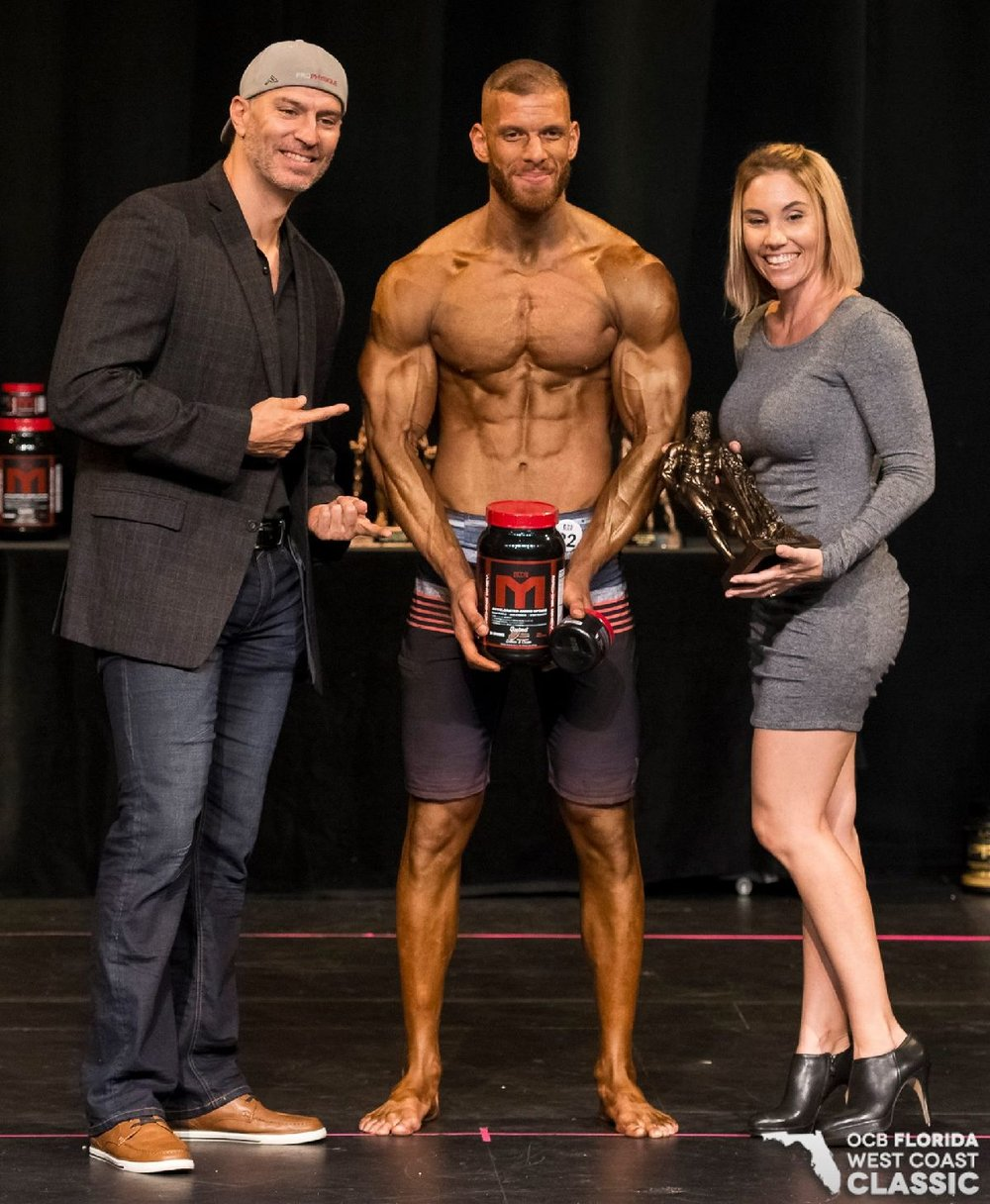 Muscular profit margin; men's physique was designed as a reaction to help mismanaged bodybuilding competitions regain revenue margins.