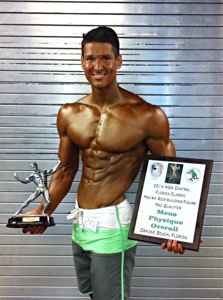 The decline will be shredded; every time a men's physique competitor wins and shows off his prizes, another blow is aimed at the sport it originates from.