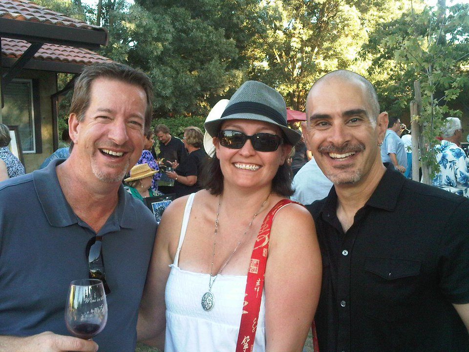 H ere's a pic with proprietor  Allan Ezial  (pictured right) and a wonderful couple that became Troll Bridge lovers!
