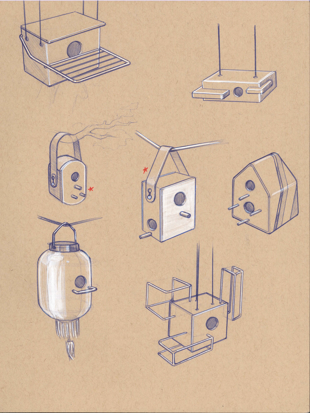 BirdhouseSketches