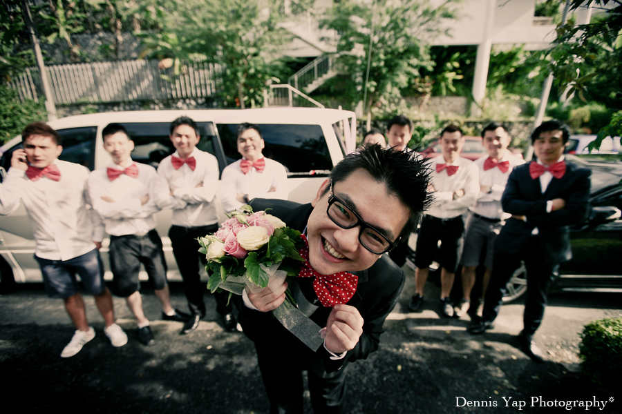 Teng How Wei Tee Gate Crash Actual Wedding Day Reception Nerd Theme Dennis Yap Photography0005.jpg
