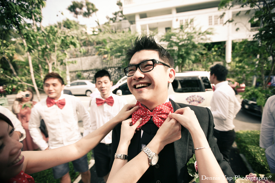Teng How Wei Tee Gate Crash Actual Wedding Day Reception Nerd Theme Dennis Yap Photography0004.jpg