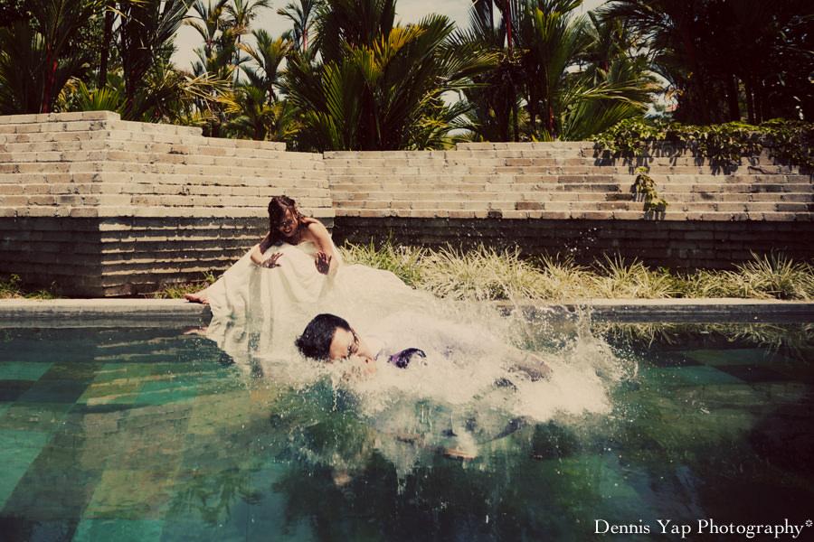 mark yuen wei pre-wedding portrait awanmulan waterfall river KLIA dennis yap photography-16.jpg