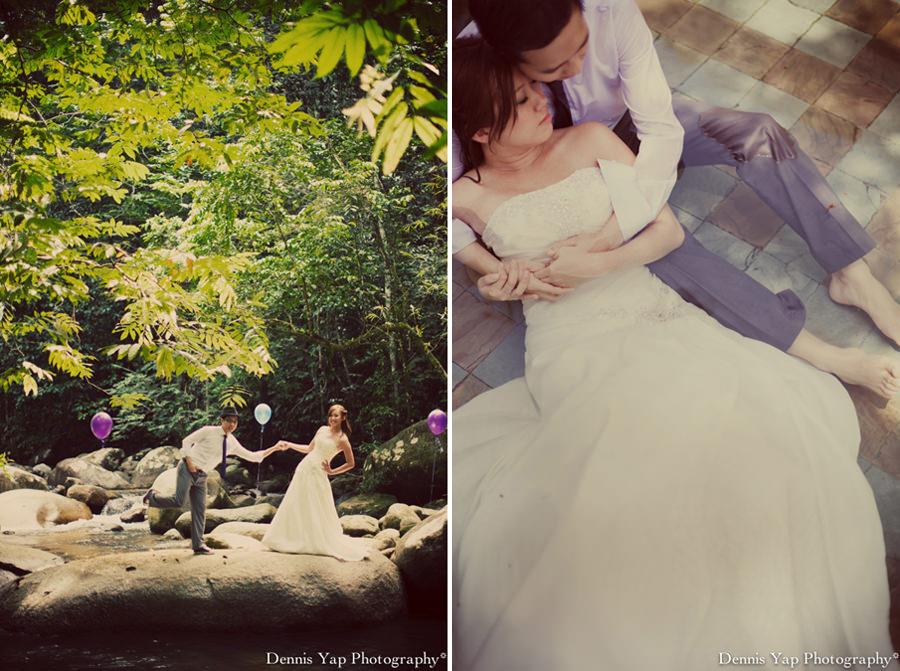 mark yuen wei pre-wedding portrait awanmulan waterfall river KLIA dennis yap photography-18.jpg