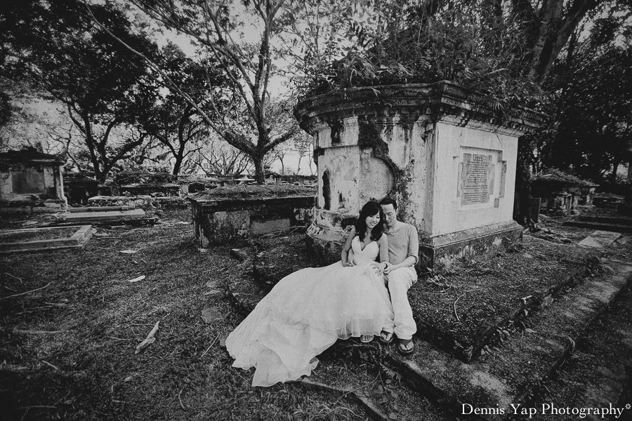 Robin bekky pre wedding penang lone pine st francis graveyard botanic garden jetty dennis yap photography-25.jpg