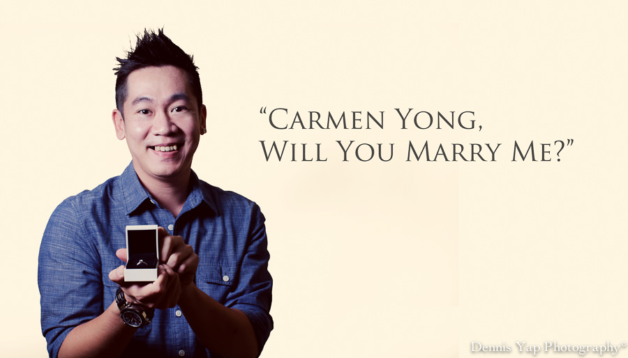 Will You Marry Me? - Jerry's Proposal — Dennis Yap ...
