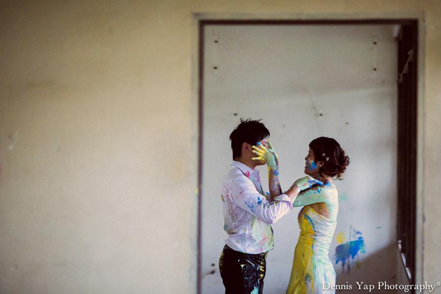 alex pinko trash the dress pre wedding portrait KTM malaysia wedding photographer dennis yap photography colourland paint-2.jpg
