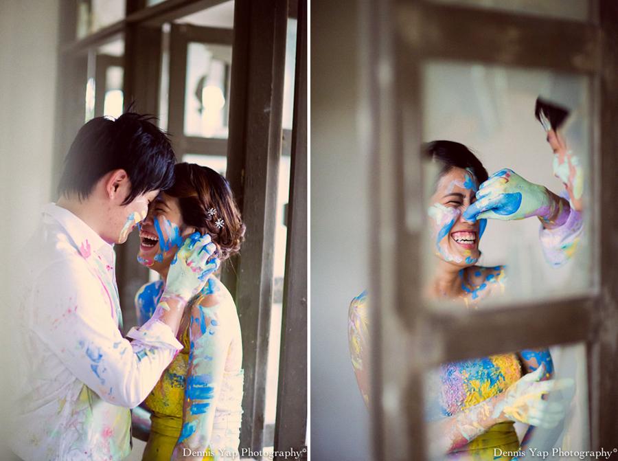 alex pinko trash the dress pre wedding portrait KTM malaysia wedding photographer dennis yap photography colourland paint-3.jpg