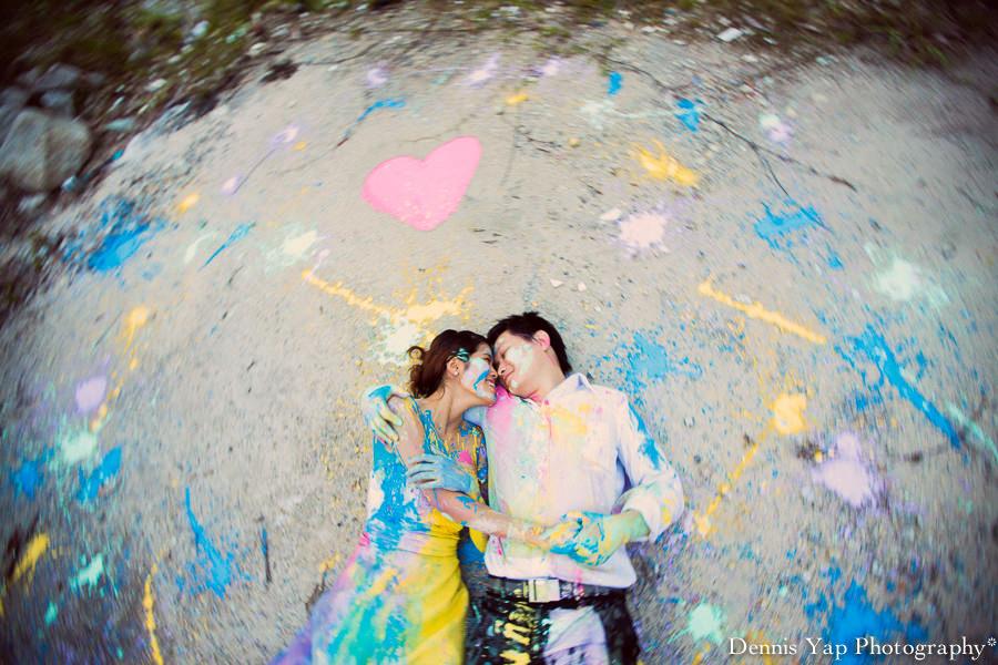alex pinko trash the dress pre wedding portrait KTM malaysia wedding photographer dennis yap photography colourland paint-7.jpg
