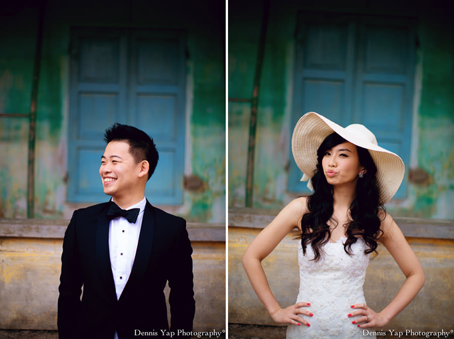 philip deniece pre wedding portrait hoi an vietnam danang rain blue umbrella lantern festival old china yellow wall spring flower beloved natural style laughter protection night portrait dennis yap photography malaysia wedding photographer-2.jpg