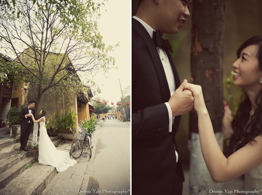 philip deniece pre wedding portrait hoi an vietnam danang rain blue umbrella lantern festival old china yellow wall spring flower beloved natural style laughter protection night portrait dennis yap photography malaysia wedding photographer-10.jpg