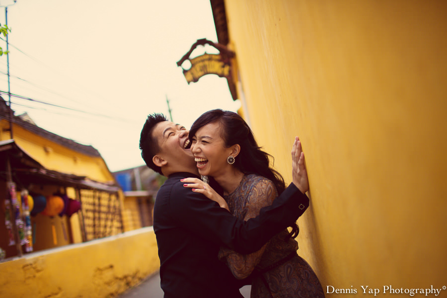 philip deniece pre wedding portrait hoi an vietnam danang rain blue umbrella lantern festival old china yellow wall spring flower beloved natural style laughter protection night portrait dennis yap photography malaysia wedding photographer-14.jpg