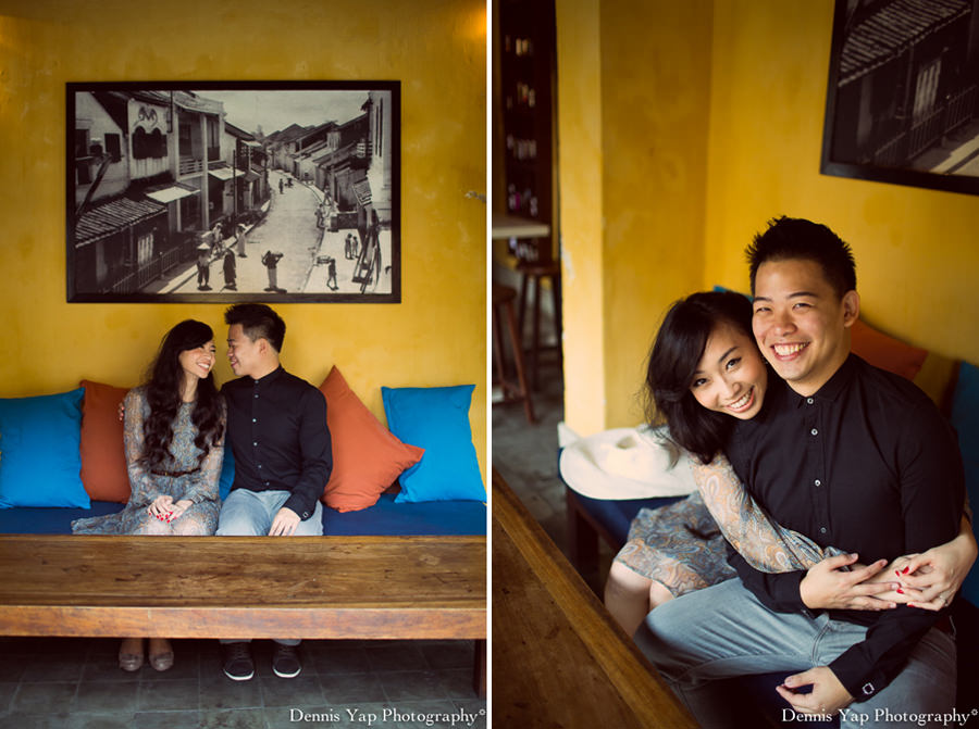 philip deniece pre wedding portrait hoi an vietnam danang rain blue umbrella lantern festival old china yellow wall spring flower beloved natural style laughter protection night portrait dennis yap photography malaysia wedding photographer-16.jpg